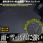 ホンダ NBOX NBOXカスタム Nボックス 運転席用 ゴムマット 平成27年2月〜 リアスライドシート