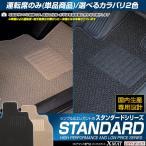 トヨタ プロボックス サクシード 運転席用 フロアマット 平成14年7月〜平成24年4月 2WD/ワゴン