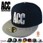 帽子 フラット キャップ メンズ レディース スノボ ブランド 3Dロゴ ベースボールキャップ ACC エーシーシー スノーボード スナップバック アメカジ 無地 TIGER