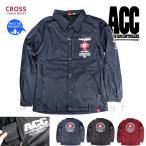ショッピングスノーボードウェア スノーボード ウェア コーチ ジャケット 上 メンズ レディース 撥水 パーカー スノボ ウエア 防水 防風 ロゴ バックプリント ACC エーシーシー CROSS