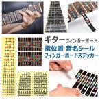ギター 音名 スケール コード シール 指板 フレットボード 上達 トレーニング フレット シート アレンジ アドリブ ギターコード