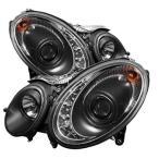 メルセデス・ベンツ Eクラス W211 プロジェクターヘッドライト LED DRL