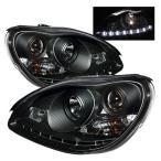 メルセデス・ベンツ Sクラス W220 プロジェクターヘッドライト LED DRL