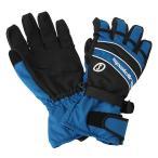 スポルディング メンズ グローブ 手袋  ブルー 〔gspb32-blue〕
