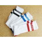 VANS  バンズ3足セット メンズ靴下3P SOCKSBORDER(ボーダー)スニーカー ロゴ 赤 青 黒 白