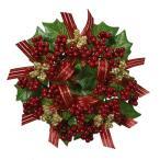 《 クリスマス リース 》◆とりよせ品◆Asca(アスカ) ベリー&リボンリース
