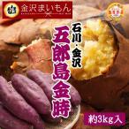 さつまいも 五郎島金時 Mサイズ 3kg サツマイモ さつま芋 加賀野菜 石川県産 金沢まいもん寿司厳選 焼き芋 ふかし芋 五郎島金時1箱3kg