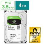 SEAGATE 内蔵HDD BarraCuda [3.5インチ/4TB] ST4000DM004