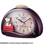 リズム時計工業 目覚まし時計「スヌーピー」 4SE506MJ09