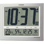 シチズン 電波掛置兼用時計「パルデジットワイド140」 8RZ140‐019
