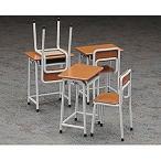 長谷川製作所 1/12 ◆学校の机と椅子