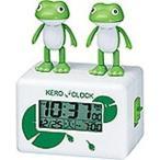 目覚まし時計 デジタル時計 ケロクロック2 リズム時計 8RDA46RH03