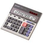 シャープ セミデスクタイプ電卓 (12桁) CS‐2130L