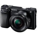 ソニー ミラーレス一眼カメラ「α6000」パワーズームレンズキット ILCE-6000L/B (ブラック)