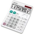 シャープ セミデスクトップタイプ電卓 (12桁) EL‐S452‐X