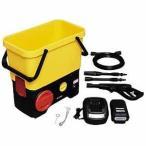 アイリスオーヤマ タンク式高圧洗浄機 充電タイプ  SDT‐L01 (イエロー)