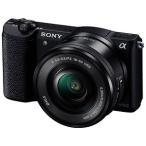 ソニー ミラーレス一眼カメラ「α5100」 パワーズームレンズキット ILCE-5100L B (ブラック)