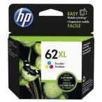 HP インクカートリッジ HP62XL C2P07AA (3色カラー/増量)