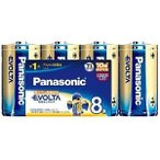 Panasonic EVOLTA 単1電池  LR20EJ 8SW