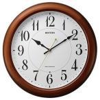リズム時計工業 電波掛け時計「ピュアライトM25」 4MYA25SR06