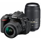 ニコン デジタル一眼 D5500「ダブルズームキット」(ブラック) D5500 ダブルズームキット