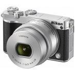 ニコン ミラーレス一眼カメラ Nikon 1 J5 標準パワーズームレンズキット J5HPLKSL(シルバー)