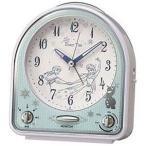 セイコー 目覚まし時計「ディズニータイム」 FD475W (白パール)