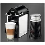 専用カプセル式コーヒーメーカー「ピクシークリップ」バンドルセット D60WRA3B (ホワイト&コーラルレッド)