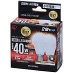 Yahoo!コジマYahoo!店アイリスオーヤマ LED電球「エコハイルクス」(小形電球形・全光束440lm/電球色相当・口金E17/2個入) LDA5L−G−E17−4T22P