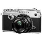 オリンパス ミラーレス一眼カメラ PEN‐F 12mmF2.0 レンズキット (シルバー)