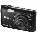 ニコン コンパクトデジタルカメラ COOLPIX(クールピクス) A300(ブラック)