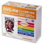 HIDISC 2倍速対応DVD-RW 10枚パックハイディスク ホワイトプリンタブル HDDRW12NCP10SC