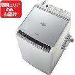 日立 縦型洗濯乾燥機 (洗濯9.0 kg/乾燥5.0 kg) 「ビートウォッシュ」 BW‐DV90A‐S(標準設置無料)