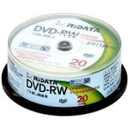 RiDATA 繰り返し録画用 DVD-RW DVD-RW120.20WHT 20枚入