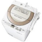 シャープ 全自動洗濯機(7.0kg) ES-GE7A-N (ゴールド系)【標準設置無料】