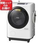 日立 ドラム式洗濯機(11.0kg・左開き)「ヒートリサイクル 風アイロン ビッグドラム」 BD-NV110AL-W (ホワイト)(標準設置無料)