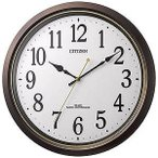 リズム時計工業 電波掛け時計 8MY517006