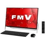 富士通 23.8型デスクトップPC[Core i7・HDD 1TB] FMVF77B1B (ブラック)