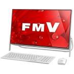 富士通 23.8型デスクトップPC[Celeron・HDD 1TB] FMVF52B1W (ホワイト)