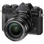 富士フィルム FUJIFILM X-T20【レンズキット】(ブラック/ミラーレス一眼カメラ) FXT20LKB