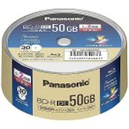 パナソニック 録画用BD−R DL 1−2倍速 50GB 30枚 LM−BRS50P30