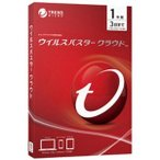 トレンドマイクロ ウイルスバスタークラウド(1年版・3台) TICEWWJCXSBUPN3700Z