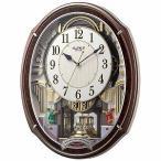リズム時計工業 電波からくり時計 「スモールワールドアルディ」 4MN545RH23