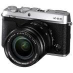 富士フイルム ミラーレス一眼カメラ レンズキット FUJIFILM X−E3(シルバー)