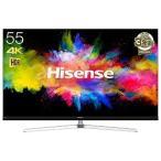 ハイセンス 55V型 4K対応液晶テレビ HJ55N8000 (別売USB HDD録画対応)(標準設置無料)
