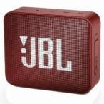 ハーマンインターナショナル JBL Bluetoothスピーカー GO 2 レッド