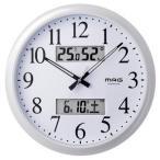 MAG マグ  置き時計 掛け時計 ホワイト φ33.8 5cm