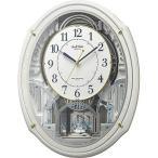 リズム時計工業 電波からくり時計 スモールワールドアルディN 4MN553RH03