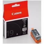 Canon  インクカートリッジ BCI-19BK 1色