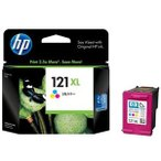 HP HP121XL プリントカートリッジ カラー (増量) CC644HJ
